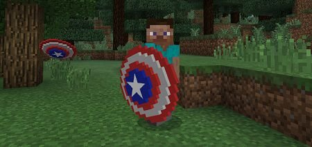 Captain America's Shield Addon