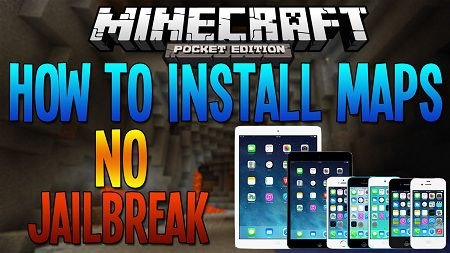 How to install maps Minecraft PE for iOS?