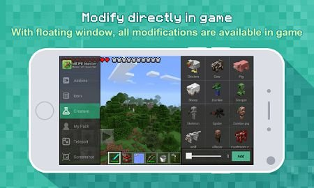 Master for Minecraft-Launcher v.2.1.31 (MCPE Master)