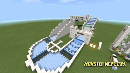 Redstone Boat Race (Minigame) map