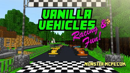 Vanilla Vehicles: Racing & Fun! (Minigame)