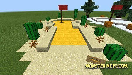 Matt's Minigolf: Biomes Edition (Minigame)