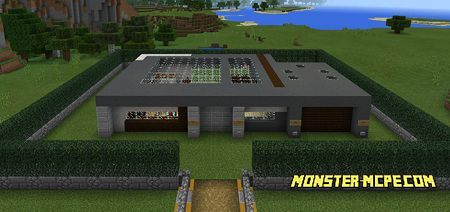 Self-Building Command Block Mansion (Redstone)