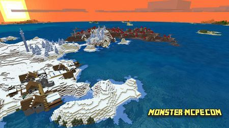 Survival Island, Mushroom, Ice Spikes & Village: 926620447
