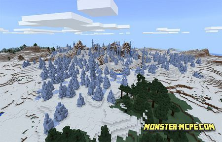 Ice Spike Biome, Stronghold Village & Igloo