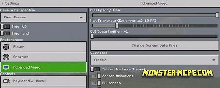 Addon More Settings v2