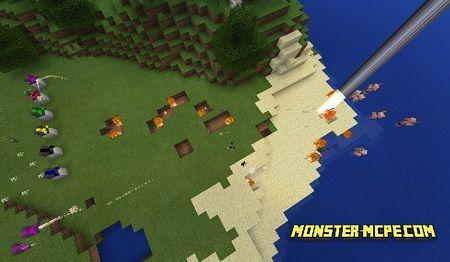 Defensive Turrets Addon | Minecraft PE Addons & Mod