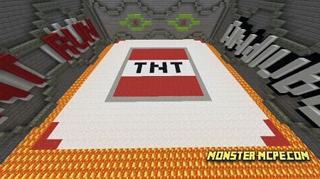 TNT RUN Map (Minigame)