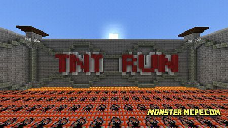 TNT RUN Map (Minigame)