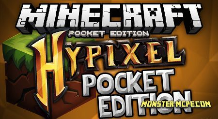 Hypixel server for Minecraft PE