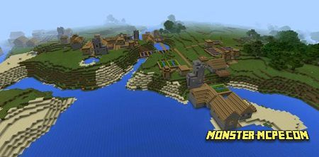 Four Villages at Spawn: can u follow me?