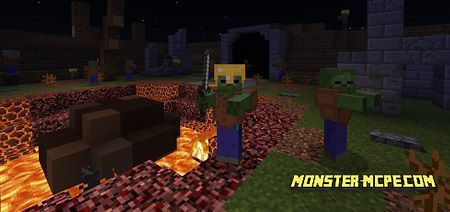 EzCraft\'s Zombie\'s Map (Minigame) | Maps Minecraft PE