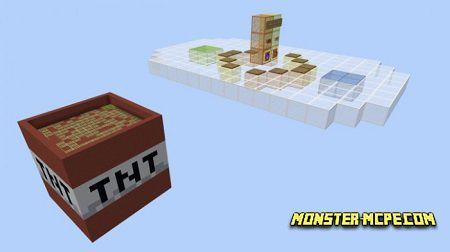 TNT Runway Map (Parkour) (Minigame) | Maps Minecraft PE