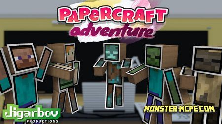 Basic Papercraft Adventure Skin Pack