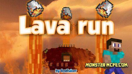 Lava Run (Parkour) (Minigame)