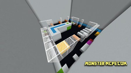 Colour Parkour Map (Parkour) (Minigame)