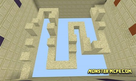 Sand Runner Map (Parkour) (Minigame)