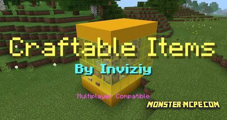Craftable Items Map (Command Blocks) (Redstone)