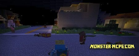 GrandTheftMCPE server for Minecraft PE