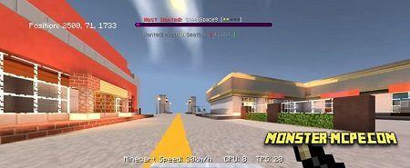 GrandTheftMCPE server for Minecraft PE