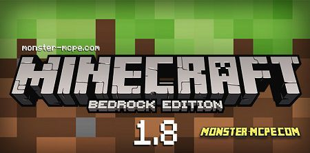 Minecraft Bedrock 1.8 apk free