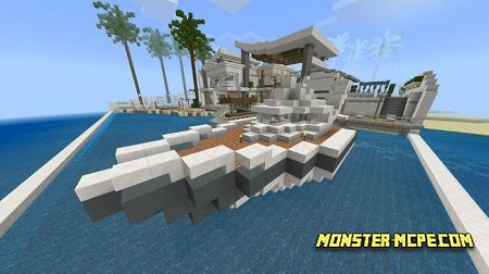 Modern Redstone Mansion Map (Creation) (Redstone)