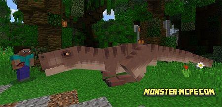 Tyrannosaurus Rex Addon | Minecraft PE Addons & Mod