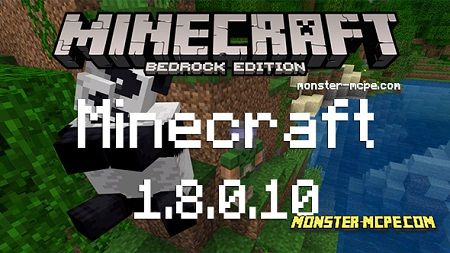 Download Minecraft Bedrock 1.8.0.10 apk free