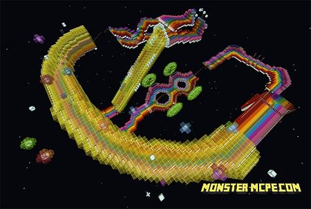Wii Rainbow Road Recreation (Roller Coaster)