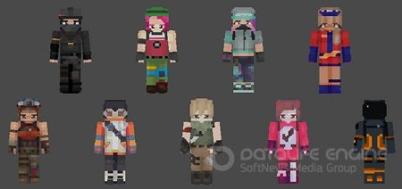Fortnite Heroes Skin Pack (128×128)