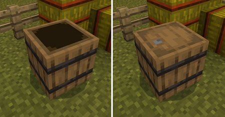 Barrel Block Function Addon