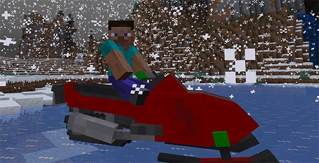 SnowMobile Addon 1.10/1.9/1.8+