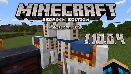 Minecraft Bedrock 1.10.0.4 apk free