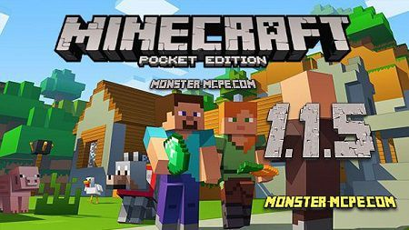 Download Minecraft PE 1.1.5 for Android