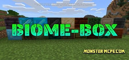 Biome-box Add-on 1.12/1.11+