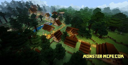Taiga Village, Outpost, Jungle, Swamp, Witch Hut and 3 Ravines Seed