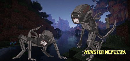 New Mob: Xenomorph Alien Add-on 1.13/1.12+