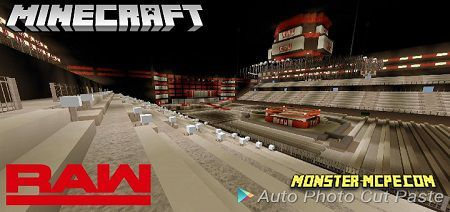 Minecraft WWE Arenas Map