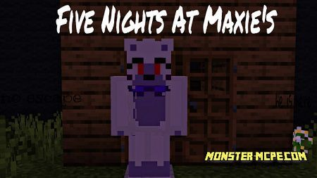 Five Nights At Maxie's Map