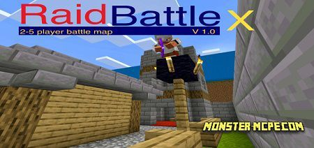 Raid Battle X Map | Maps Minecraft Bedrock