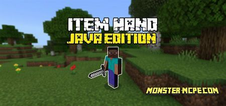 Java Edition Item Hand Texture Pack