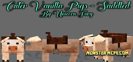 Cuter Vanilla Pigs 1.14/1.13+