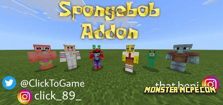 Spongebob Addon 1.14/1.13+