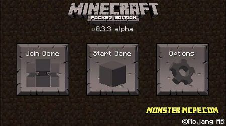 Minecraft PE 0.3.0, 0.3.2 and 0.3.3 for Android