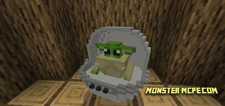 Baby Yoda Addon 1.14/1.13+