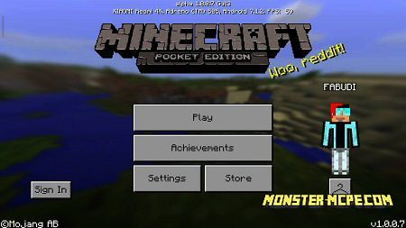 Minecraft PE 1.0.7 for Android