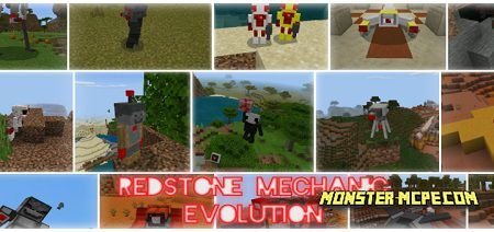 Redstone Mechanic Evolution 1.14/1.13+