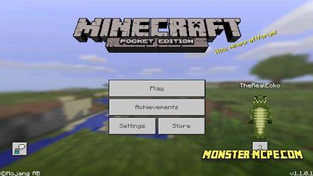 Minecraft PE 1.1.0.1 for Android