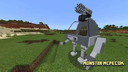 Mechs and Jetpacks Addon 1.14+