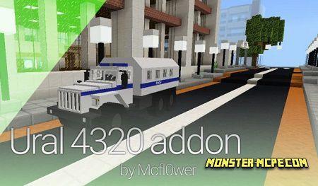 Ural 4320 Addon 1.14+